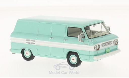 Chevrolet Corvair 1/43 Neo turquoise/blanche 1963 Kastenwagen miniature
