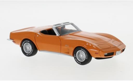 Chevrolet Corvette 1/43 Neo (C3) Convertible orange 1973 modellautos