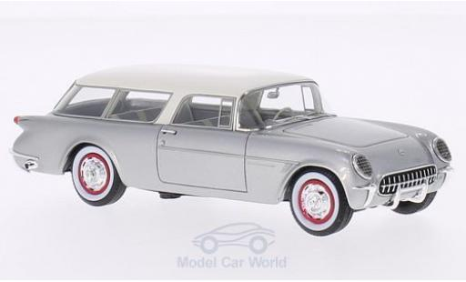 Chevrolet Corvette 1/43 Neo Nomad grey/white 1954 diecast model cars