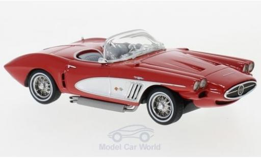 Chevrolet Corvette 1/43 Neo XP-700 Roadster Concept rouge/grise 1959 miniature