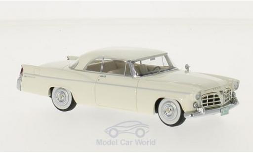 Chrysler 300B 1/43 Neo blanche 1956 miniature