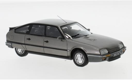 Citroen CX 1/43 Neo GTi Turbo 2 metallise grise 1986 miniature