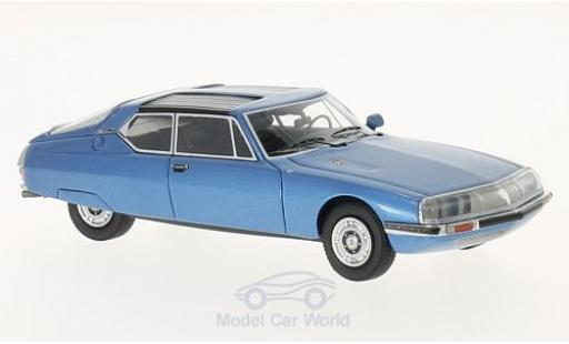 Citroen SM 1/43 Neo 1971 Espace by Heuliez metallise blue 1971 diecast model cars