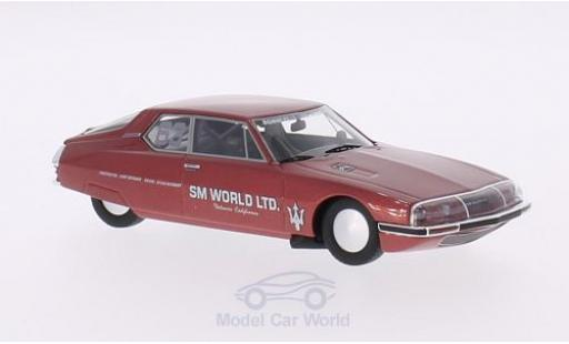 Citroen SM 1/43 Neo No.63 World Ltd. Land Speed Trials Bonneville 1987 Rekordfahrzeug: 206 mph (332 km/h) S.Hathaway diecast model cars