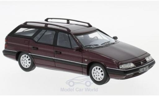 Citroen XM 1/43 Neo Break metallic-dunkelrouge 1989 miniature