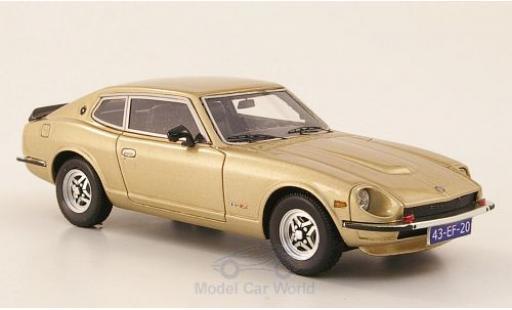 Datsun 260Z 1/43 Neo 2+2 gold 1975 miniature