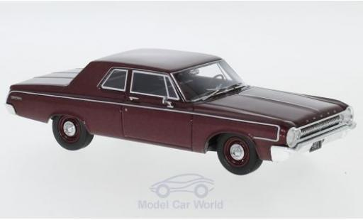 Dodge 330 1/43 Neo Sedan métallisé rouge 1964 miniature