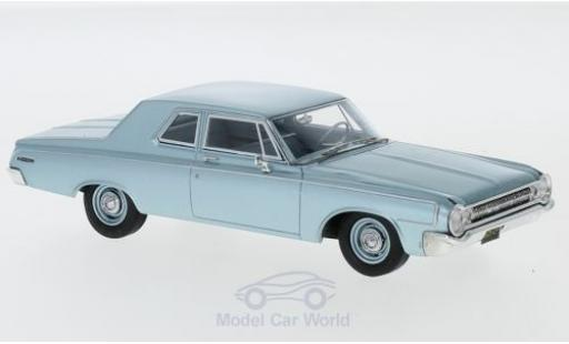 Dodge 330 1/43 Neo Sedan metallic blue 1964 diecast