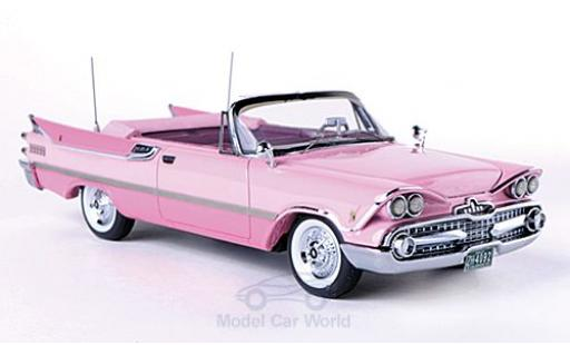 Dodge Custom Royal Lancer 1/43 Neo Convertible pink/pink 1959 diecast model cars