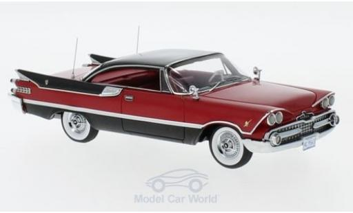 Dodge Custom Royal Lancer 1/43 Neo Coupe red/black 1959 diecast model cars