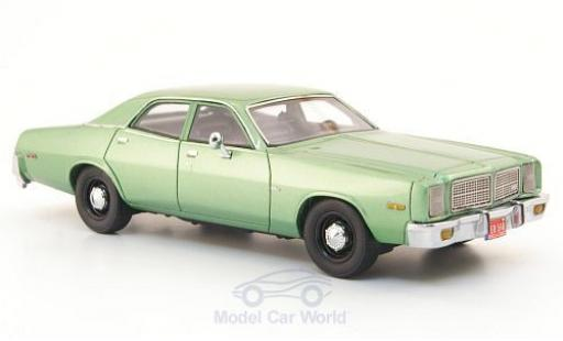 Dodge Monaco 1978 1/43 Neo metallise green diecast model cars