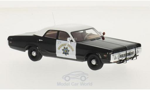 Dodge Polara 1/43 Neo Sedan California Highway Patrol 1972 miniature