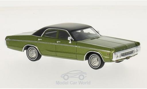 Dodge Polara 1/43 Neo Sedan metallise verte/noire 1972 miniature