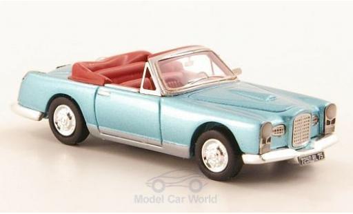 Facel Vega FV 1/87 Neo 1 Cabriolet metallise bleue 1955 miniature