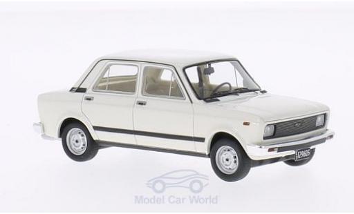 Fiat 128 1/43 Neo CL blanche Maradona 1982 miniature