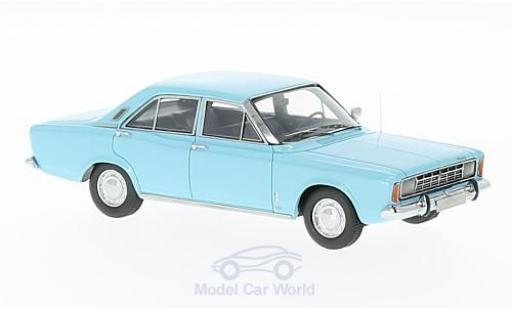Ford 17M 1/43 Neo 17m (P7a) bleue 1967 miniature