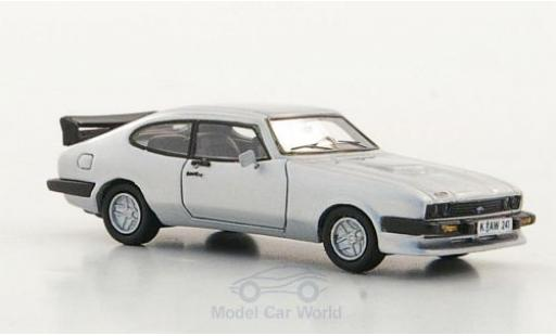 Ford Capri 1/87 Neo III Turbo grise 1981 miniature