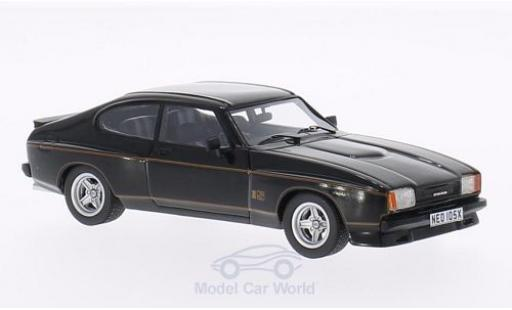 Ford Capri 1/43 Neo MKII 3.0S X-Pack negro 1976 miniatura