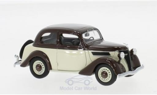Ford Eifel 1/43 Neo marron/beige 1938 miniature