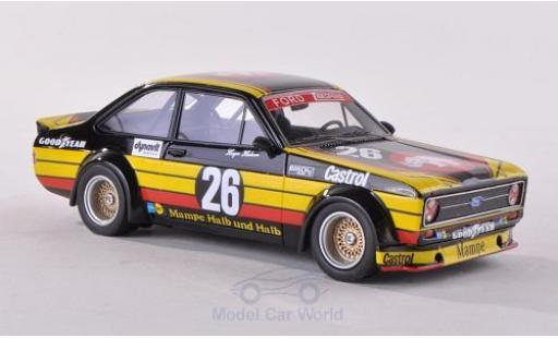 Ford Escort 1/43 Neo II RS Gr.2 No.26 Mampe ETCC 1977 miniature