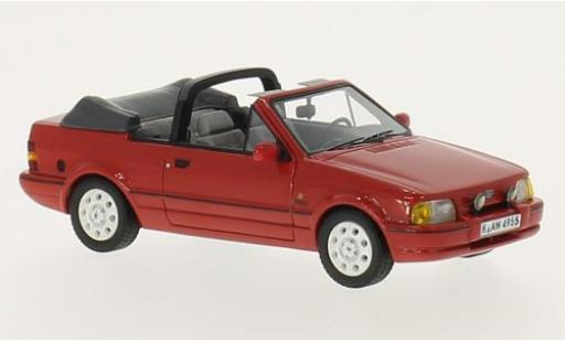 Ford Escort 1/43 Neo MkIV XR3i Cabriolet red 1986 diecast model cars