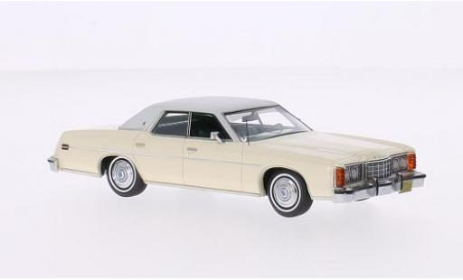 Ford LTD 1/43 Neo beige/matt-grise miniature