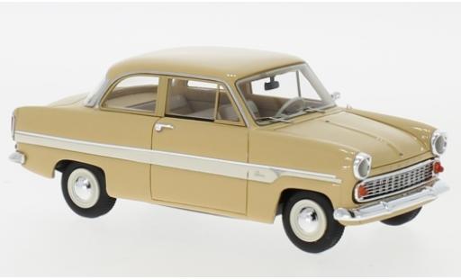 Ford Taunus 1/43 Neo 12M (G13AL) Limousine beige/bianco 1959 modellino in miniatura