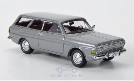 Ford Taunus 1966 1/43 Neo 12M (P6) Turnier grey diecast model cars