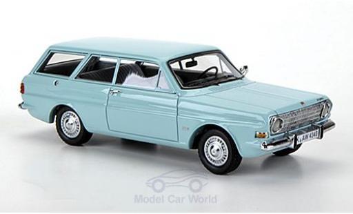 Ford Taunus 1/43 Neo 12M (P6) Turnier türkis miniature