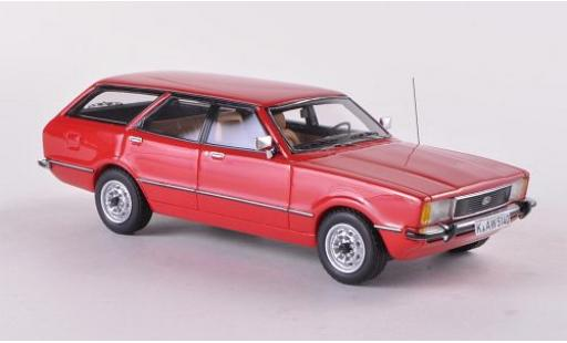 Ford Taunus 1/43 Neo TC2 Turnier GL rouge 1976 miniature