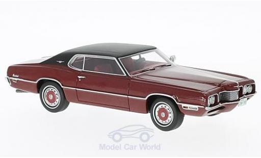 Ford Thunderbird 1/43 Neo 2-Door Landau rouge/noire 1970 miniature