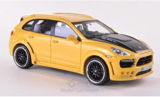 Hamann Guardian 1/43 Neo jaune/carbon 2011 miniature