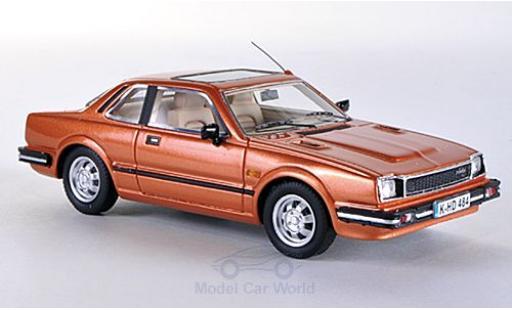Honda Prelude 1/43 Neo MKI metallic-hellmarron 1981 miniature