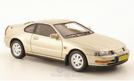 Honda Prelude 1/43 Neo MKIV metallic-beige 1992 miniature