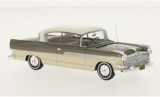 Hudson Hornet 1/43 Neo 2-Door Hollywood Hardtop metallise brown/beige 1957 diecast model cars