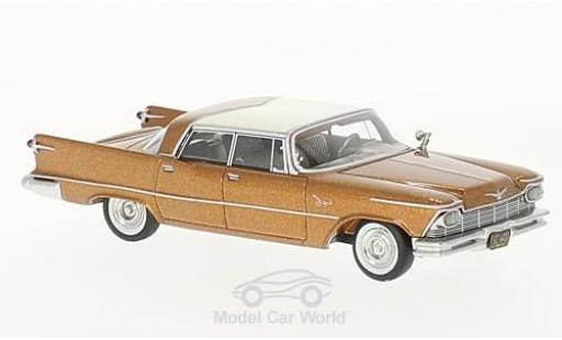 Imperial Crown 1/64 Neo 4-Door Southampton kupfer/blanche 1957 miniature