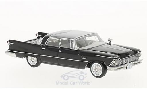 Imperial Crown 1/64 Neo 4-Door Southampton noire/grise 1957 miniature