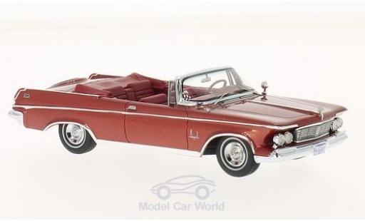 Imperial Crown 1/43 Neo Convertible métallisé rouge 1963 miniature