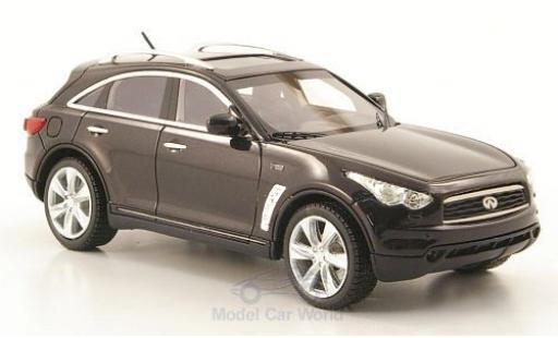 Infiniti FX50 1/43 Neo S metallise grise 2010 miniature