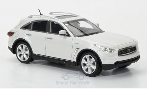 Infiniti FX50 1/43 Neo S metallise blanche 2010 miniature