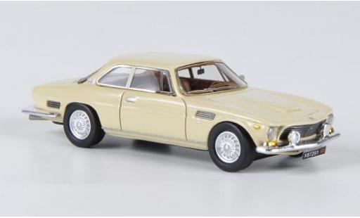 ISO Rivolta 1/87 Neo GT beige 1963 modellino in miniatura
