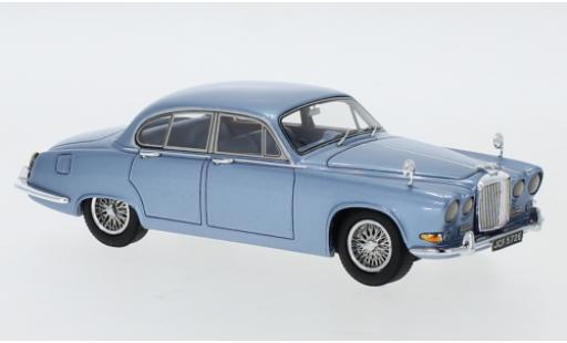 Jaguar 420 1/43 Neo metallise blue RHD 1967 diecast model cars