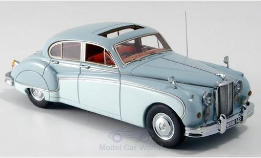 Jaguar MK 9 1/43 Neo IX grise/grise RHD 157 miniature