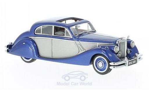 Jaguar MK 9 1/43 Neo V metallic-bleue/grise 1950 miniature