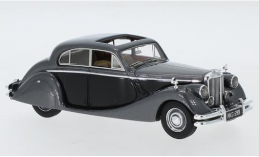 Jaguar MK 1/43 Neo Mk V metallise grise/noire RHD 1950 miniature
