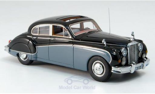 Jaguar MK 9 1/43 Neo VIII noire/grise 157 miniature