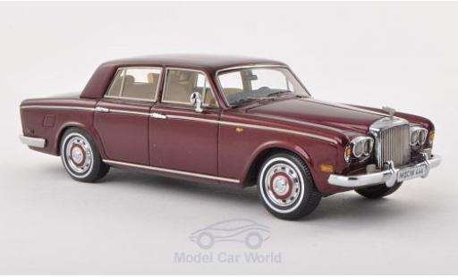 Bentley T1 1/43 Neo Limited 300 Saloon metallise rouge 1974 miniature
