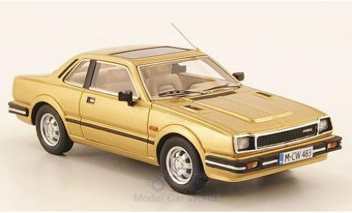 Honda Prelude 1/43 Neo Limited 300 MkI gold 1983 miniature