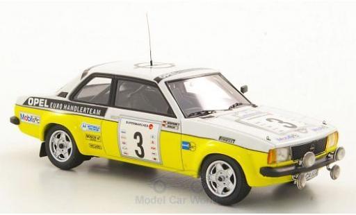 Opel Ascona C 1/43 Neo Limited 300 B Gr.2 No.3 Euro Händlerteam Boucles de Spa 1979 J.Kleint/G.Wanger miniature