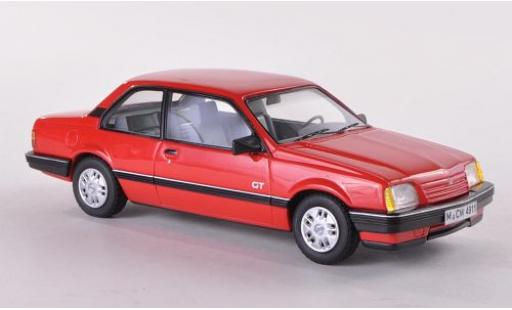Opel Ascona 1/43 Neo Limited 300 C GT rouge 1986 2-portes miniature